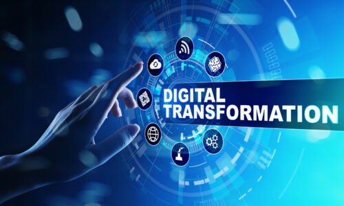 Digital Transformation, Disruption, Innovation. Business And  Mo
